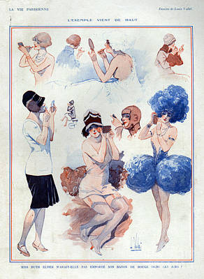 1920s France La Vie Parisienne Art Print by The Advertising Archives