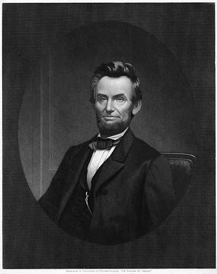 Republican Painting - Abraham Lincoln (1809-1865) by Granger