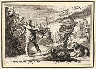 Anonymous After Hendrick Goltzius Dutch Art Print