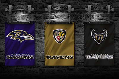 Maryland Photograph - Baltimore Ravens by Joe Hamilton