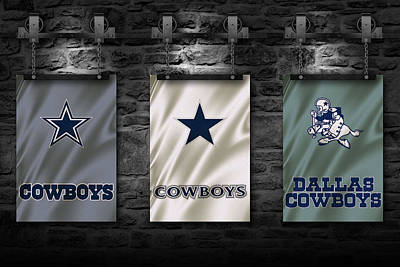 Galaxies Photograph - Dallas Cowboys by Joe Hamilton