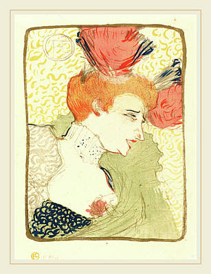 Lender Drawing - Henri De Toulouse-lautrec French, 1864-1901 by Litz Collection