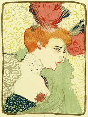 Lender Drawing - Henri De Toulouse-lautrec French, 1864 - 1901 by Quint Lox