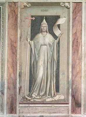 Caryatids Photograph - Italy, Veneto, Padua, Scrovegni Chapel by Everett