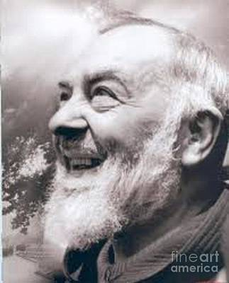 Confessions Photograph - Padre Pio by Archangelus Gallery