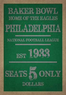 Philadelphia Eagles Art Print by Joe Hamilton