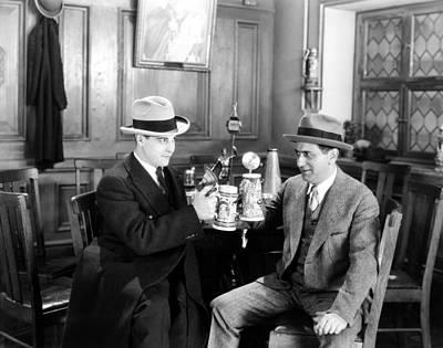 Photograph - Silent Film Still: Drinking by Granger