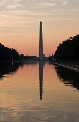 National Mall Photograph - Washington Dc, Usa by Lee Foster