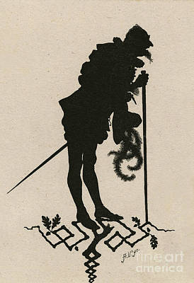 Advertising Archives - A silhouette illustration for Midsummer night dream by Shakespea by Indian Summer