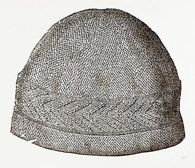 Nightcaps Drawing - 44. Gentlemans Nightcap by Litz Collection