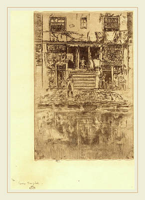 James Mcneill Whistler American, 1834-1903 Art Print