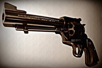 Lucky Mixed Media - 44 Magnum by David Dehner
