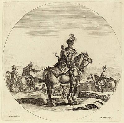 Stefano Della Bella Italian, 1610 - 1664 Art Print