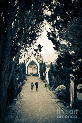 Photograph - The Long Walk by Rene Triay Photography