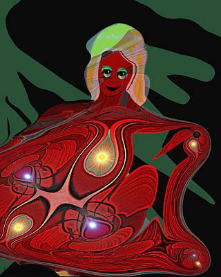 Kali Painting - 444 - Body Metamorphosis  ... by Irmgard Schoendorf Welch