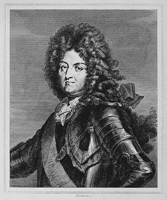 Breastplate Painting - Louis Xiv (1638-1715) by Granger