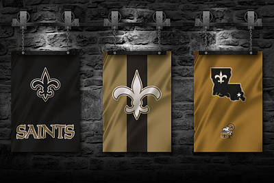 Photograph - New Orleans Saints by Joe Hamilton