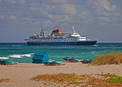 Photograph - 45- Palm Beach Princess by Joseph Keane