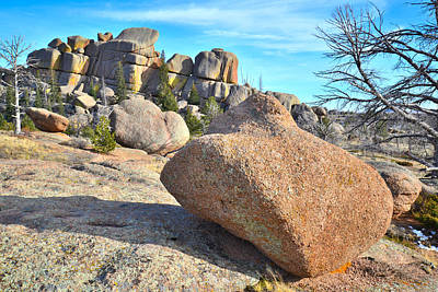 Vedauwoo Rocks Art Print