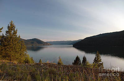 Photograph - 450p Lake Koocanusa Montana by NightVisions