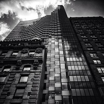 Instacnvs Photograph - 452 Fifth Ave. Bldg. - Ny ... With The by Joel Lopez