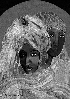 Inuu Digital Art - 454 - Dreaming Of Abu Dhabi   by Irmgard Schoendorf Welch