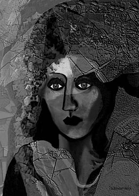 Digital Art - 455 - Arabella   by Irmgard Schoendorf Welch