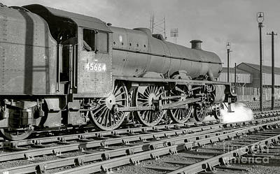 Photograph - 45664 Nelson At Blackpool by David Birchall