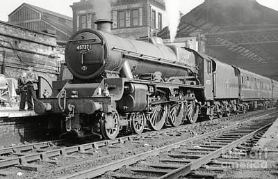 Photograph - 45737 Atlas At Preston by David Birchall