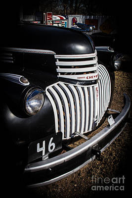 Photograph - '46 Chevy by Jim McCain