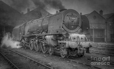 Photograph - 46244 King George Vi At Carlisle by David Birchall