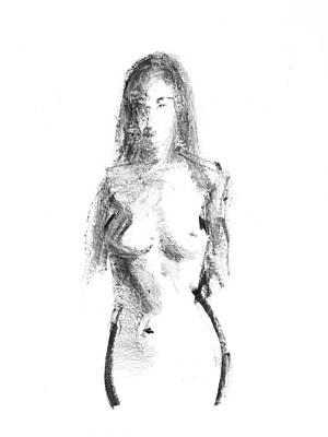 42 Drawing - Rcnpaintings.com by Chris N Rohrbach