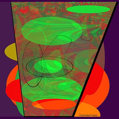 Inuu Digital Art - 467 - Cup Of Plenty .... by Irmgard Schoendorf Welch