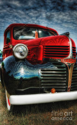 47 Dodge Pickup Art Print