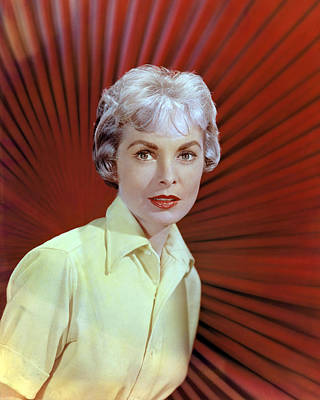 Photograph - Janet Leigh by Silver Screen