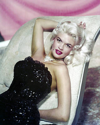 Pin Up Photograph - Jayne Mansfield by Silver Screen