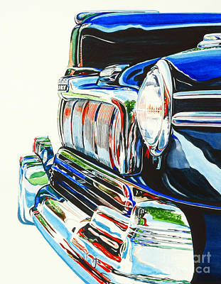 47 Mercury Art Print by Rick Mock