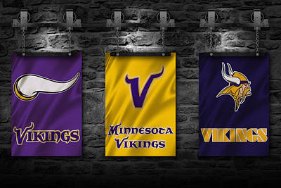 Team Photograph - Minnesota Vikings by Joe Hamilton