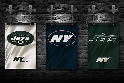 New York Jets Art Print by Joe Hamilton