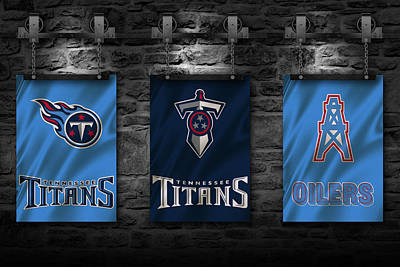 Photograph - Tennessee Titans by Joe Hamilton