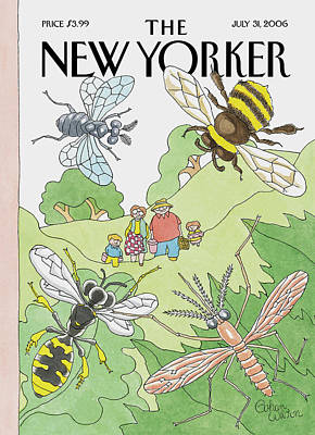 New Yorker July 31st, 2006 Art Print