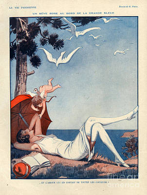 1920s France La Vie Parisienne Magazine Print by The Advertising Archives