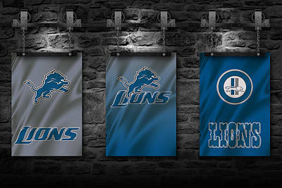 Photograph - Detroit Lions by Joe Hamilton