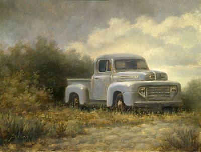 48 Ford Pickup Art Print by Paul Abrams