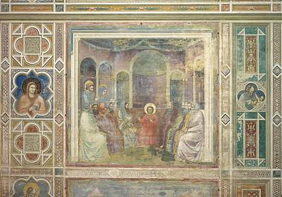 Italy, Veneto, Padua, Scrovegni Chapel Art Print