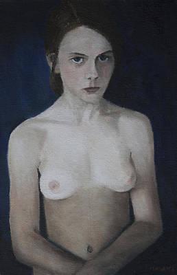 Painting - Young Girl by Masami Iida