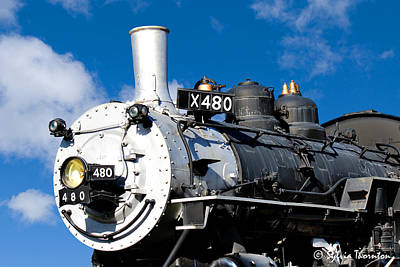 Art Print featuring the photograph 480 Locomotive by Sylvia Thornton