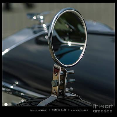 Photograph - Vintage Cars by Jorgen Norgaard