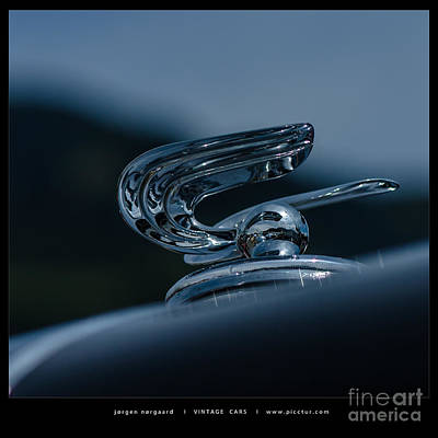 Photograph - Vintage Cars by Jorgen Norgaard