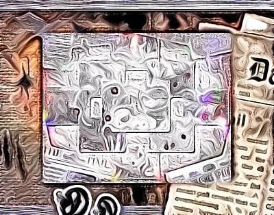 Etc. Digital Art - Abstract by HollyWood Creation By linda zanini
